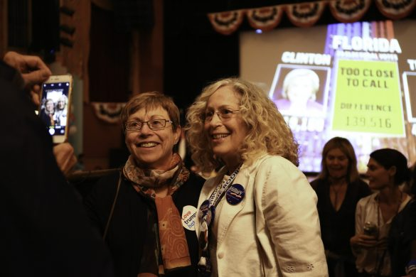 Boulder Theater watch party update: Trump takes the lead