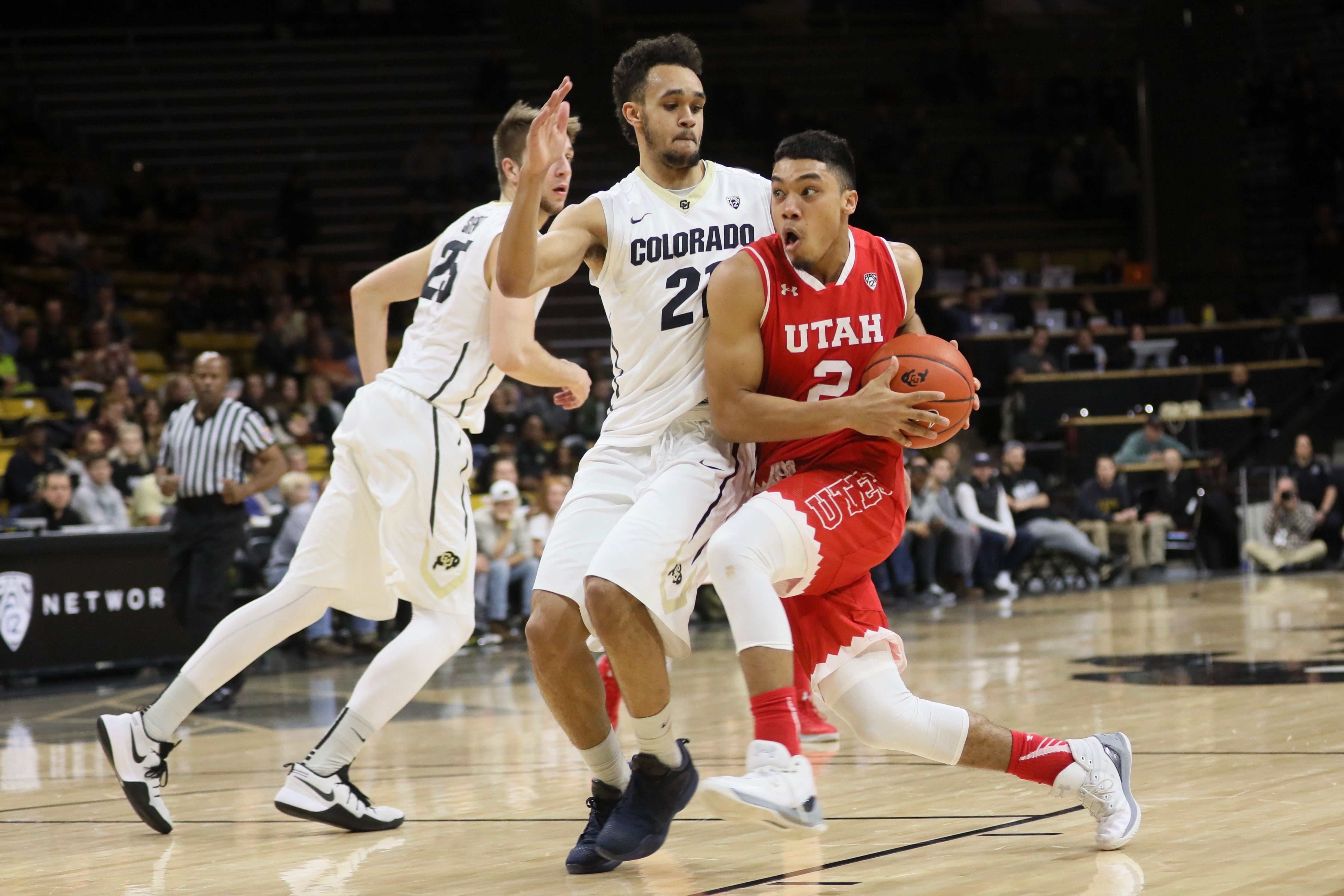Buffs can't catch up with Utah, lose 86-81