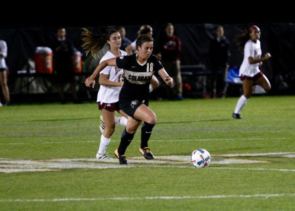 Reinvigorated offense bolstering an already stout defense for CU soccer