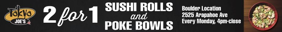Tokyo Joe's Monday Sushi Nights