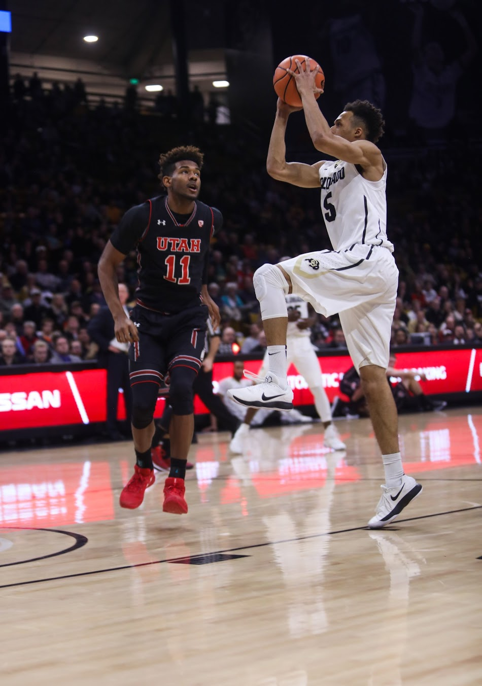 Buffs claim bounce-back win over Utah 67-55