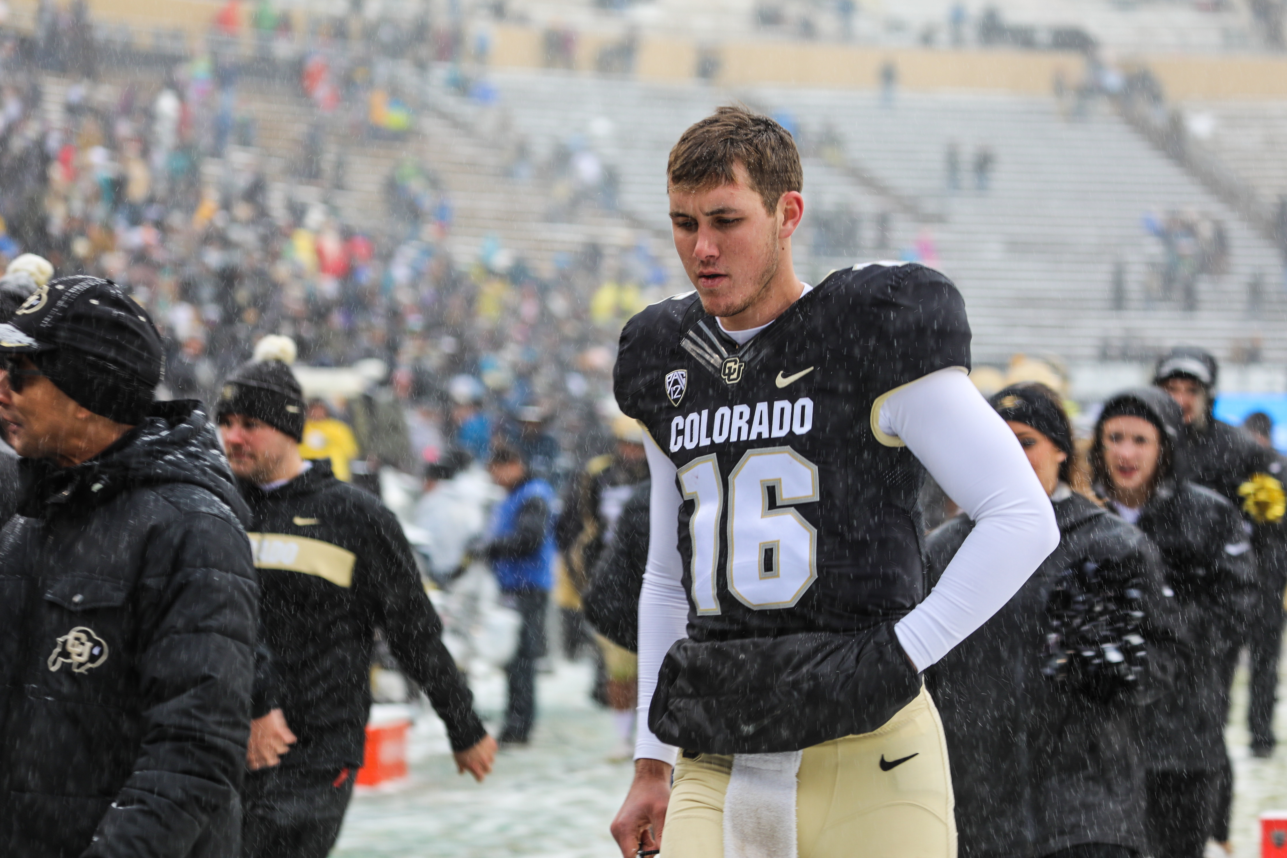 Buffs let another one slip away, fall to No. 19 Utah 30-7 on Senior Day