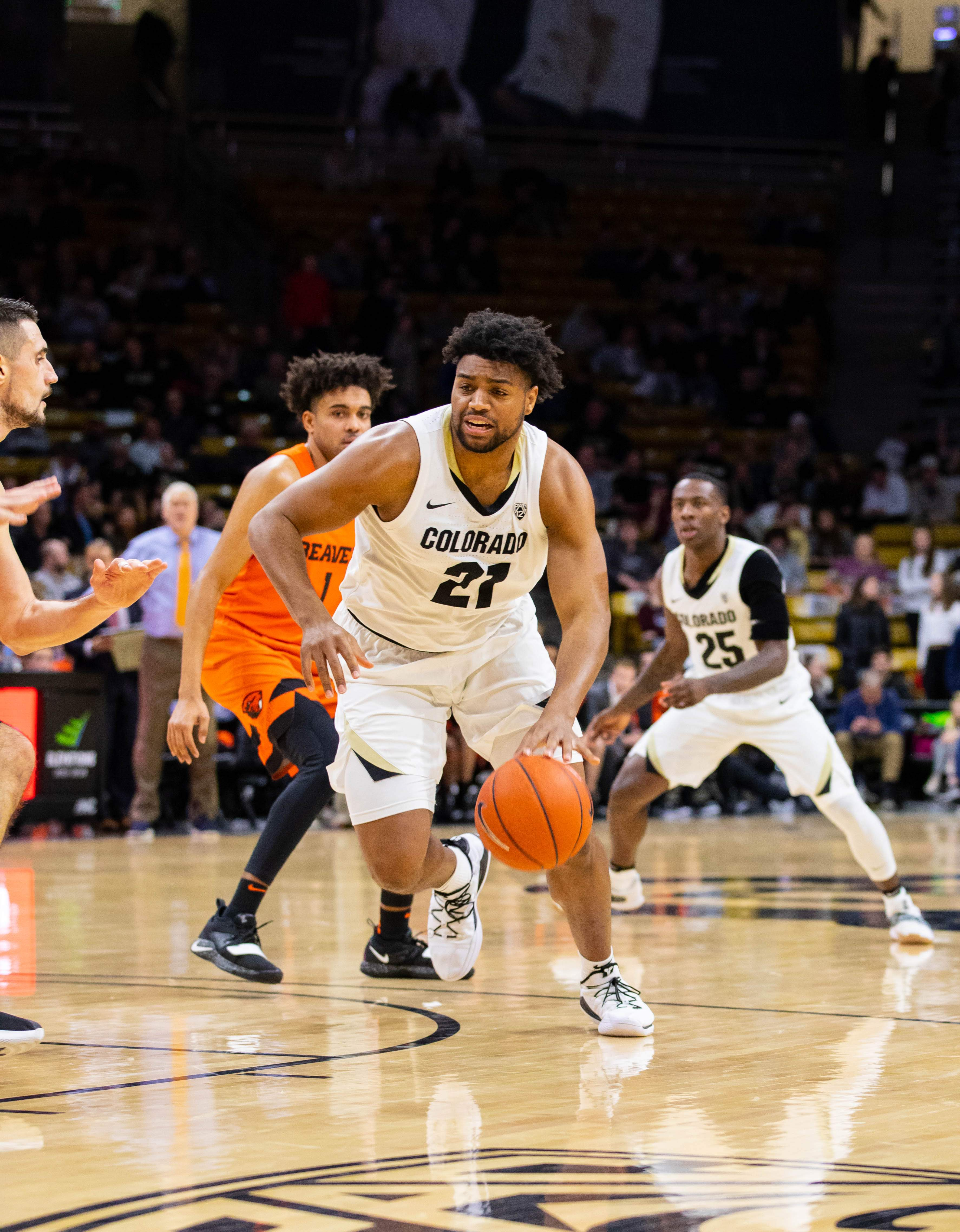 Beavers' dam holds as Buffaloes fall, 76-74, to OSU