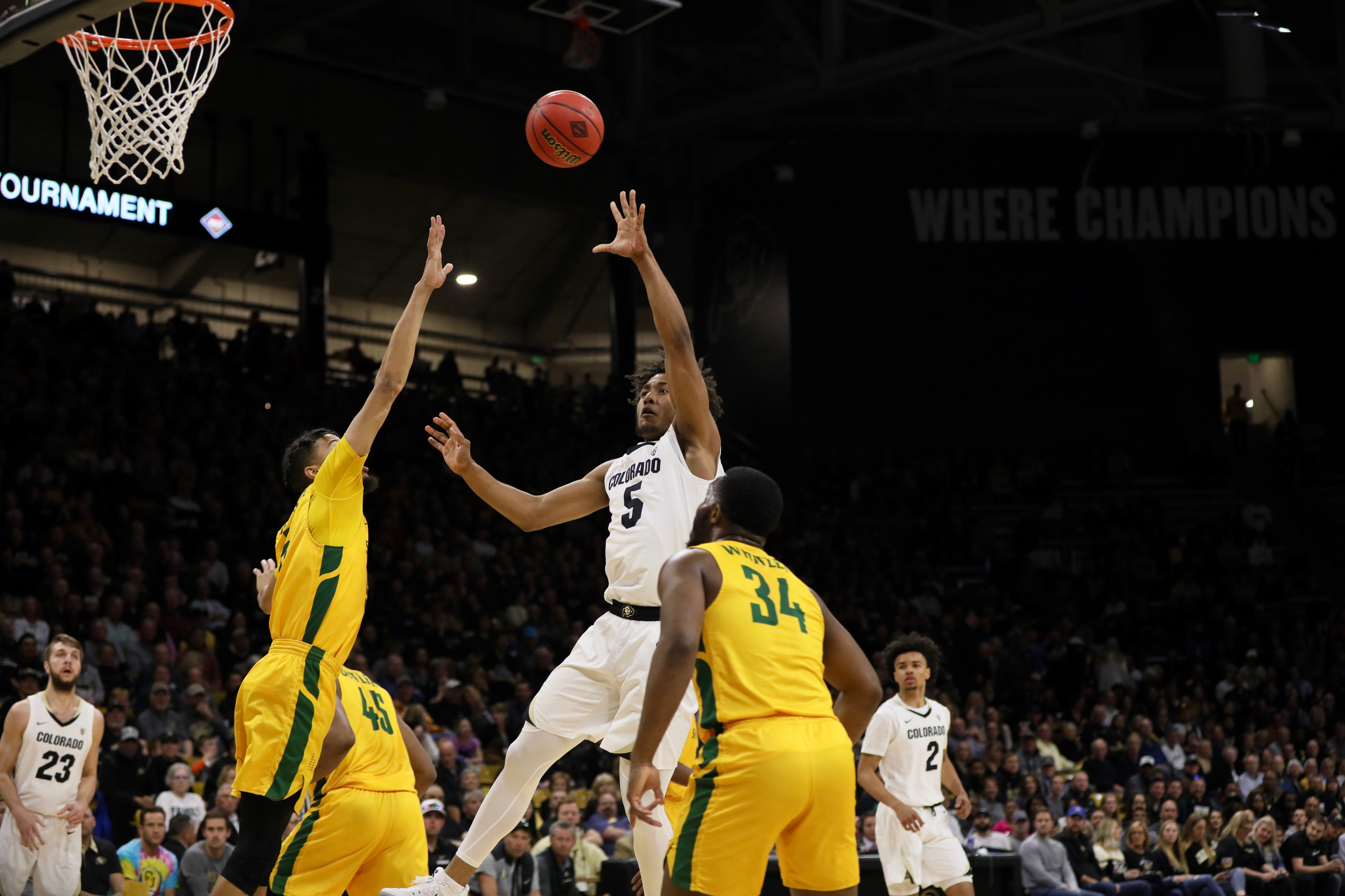 Buffs defeat Norfolk State in second round of NIT, 76-60