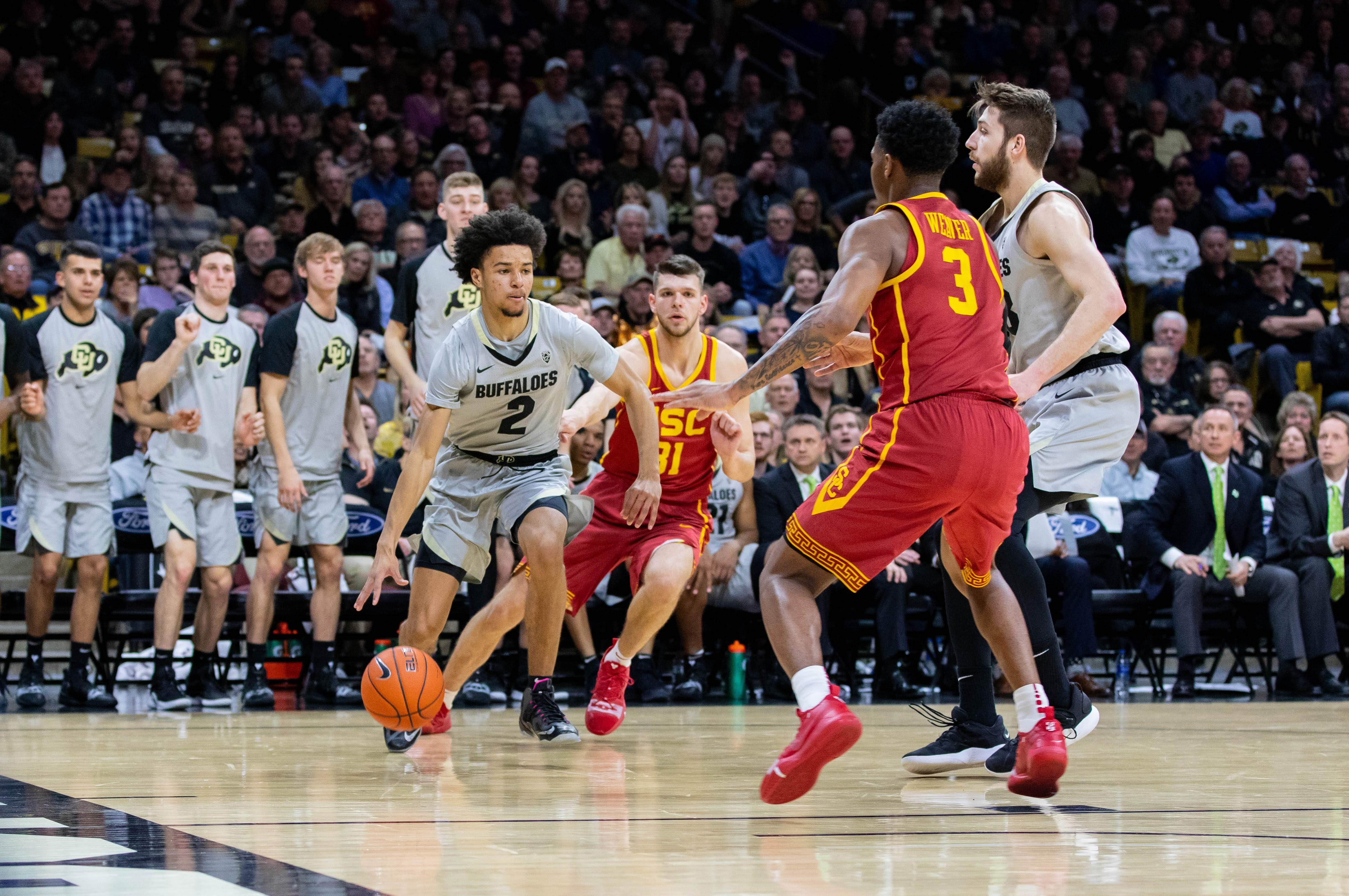 Colorado finishes regular season with 78-67 win over USC