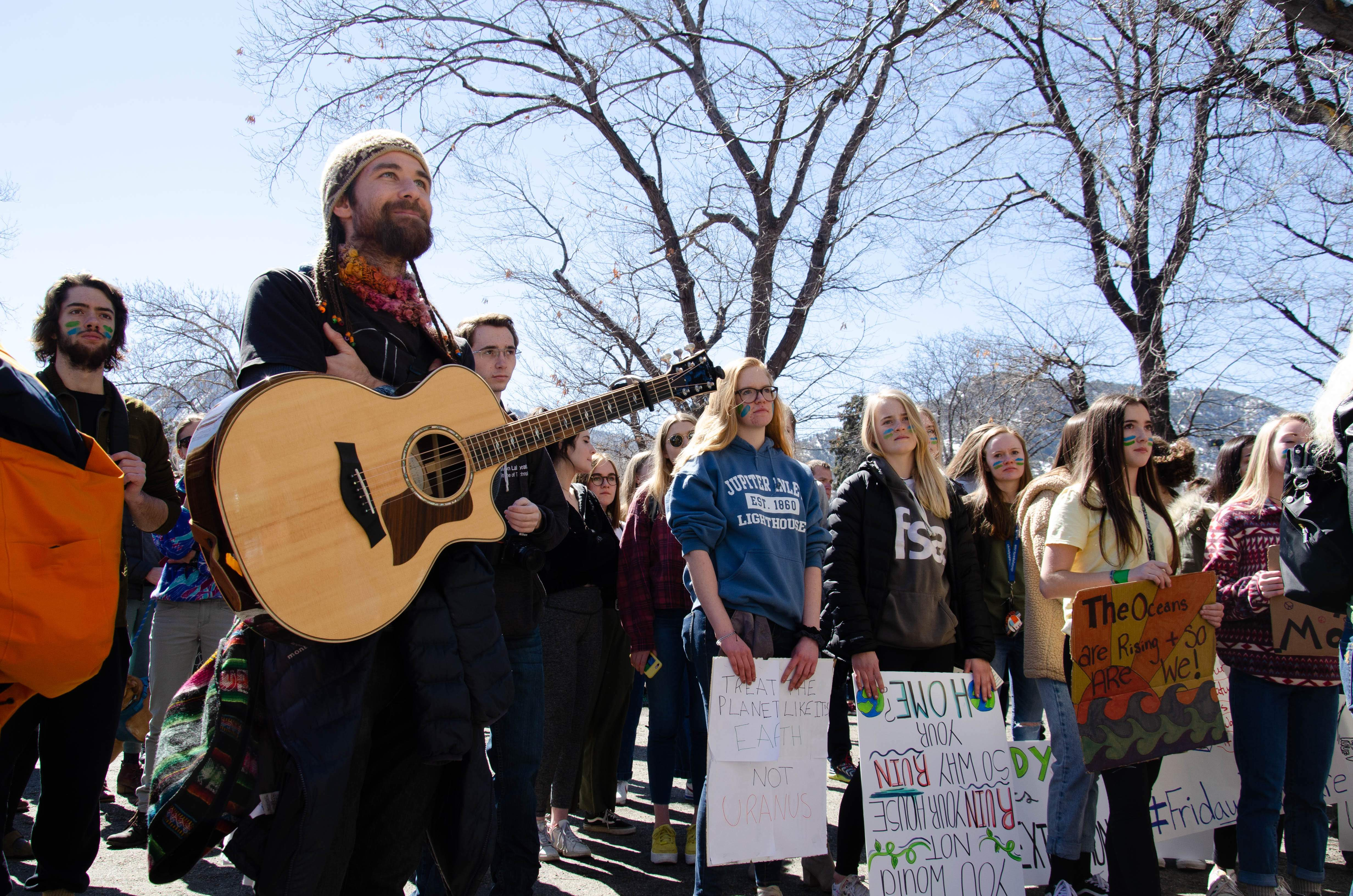 Boulder community joins in on global march for climate action