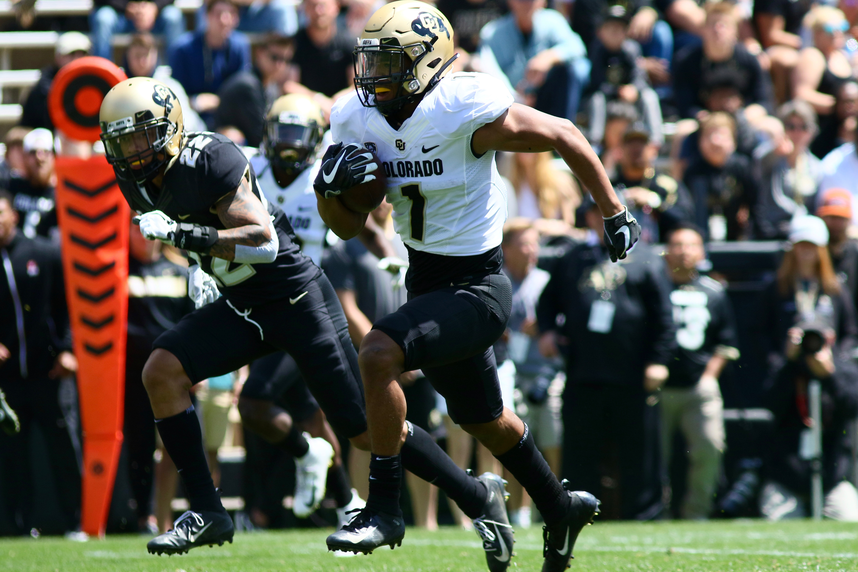 Team Gold prevails during CU's annual Spring Game