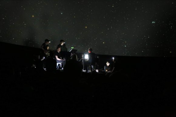 Boulder Laptop Orchestra performs space-themed music at Fiske