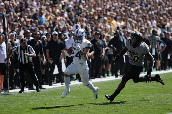 Buffs lose overtime thriller to Air Force