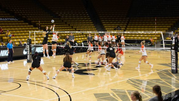 Buffs volleyball sweep Campbell, finish Colorado Classic undefeated