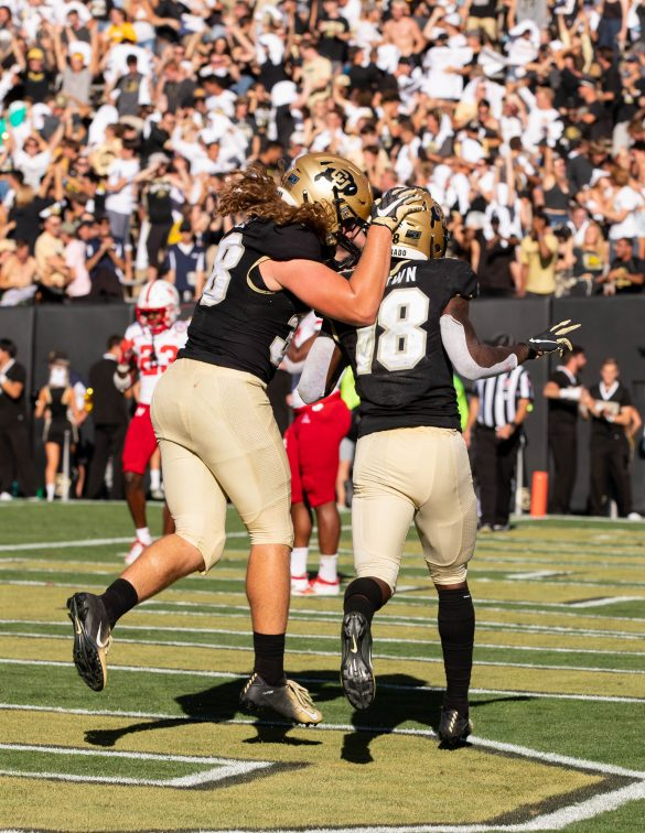 'It was special for us': Buffs overcome deficit to beat Nebraska 34-31 in overtime