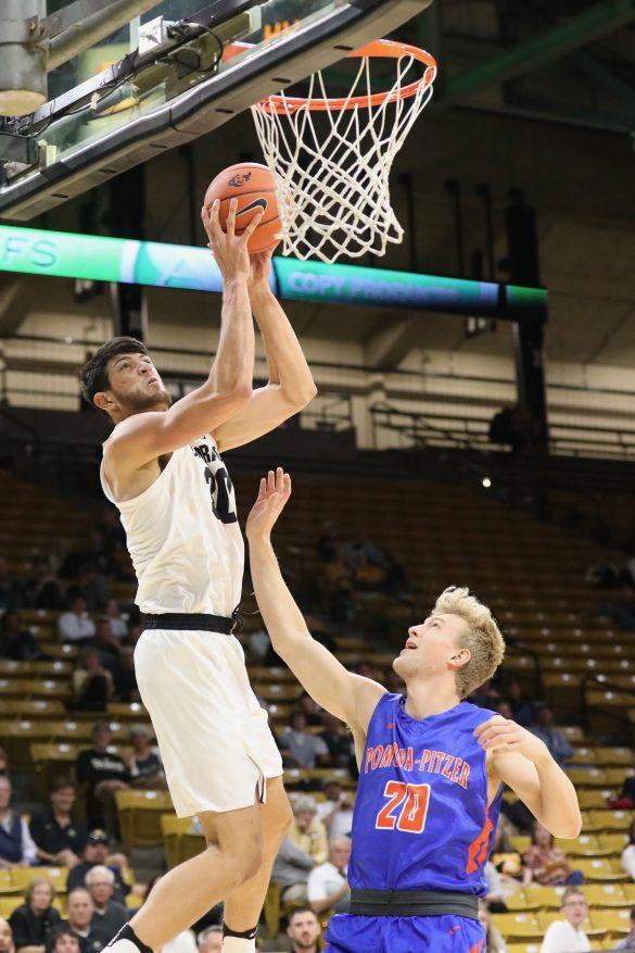 CU men's basketball earns exhibition win over Pomona-Pitzer, 87-56