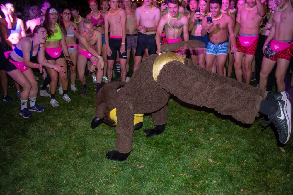 CU gets nearly naked for charity drive during the Nearly