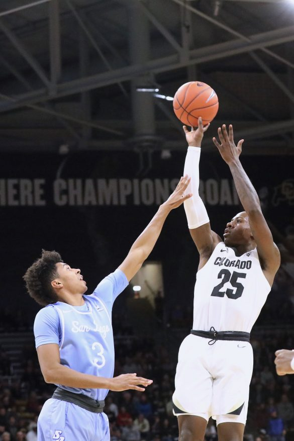 No. 25 CU men's basketball opens up the Keg with win over San Diego
