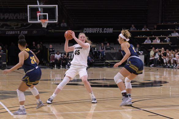 Freshman Jaylyn Sherrod leads CU women's basketball to victory in exhibition
