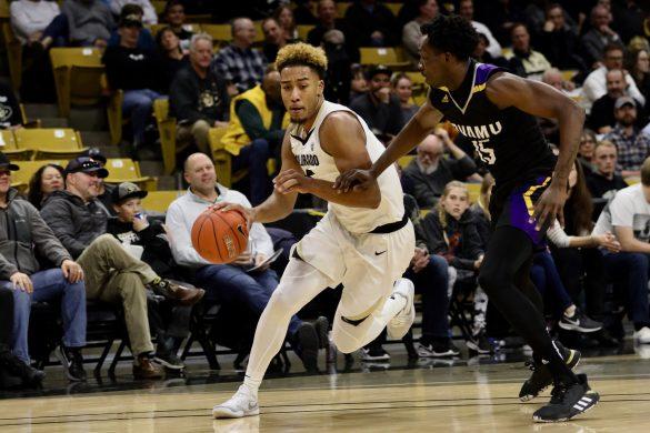CU men's basketball comfortably defeats Prairie View A&M, 83-64