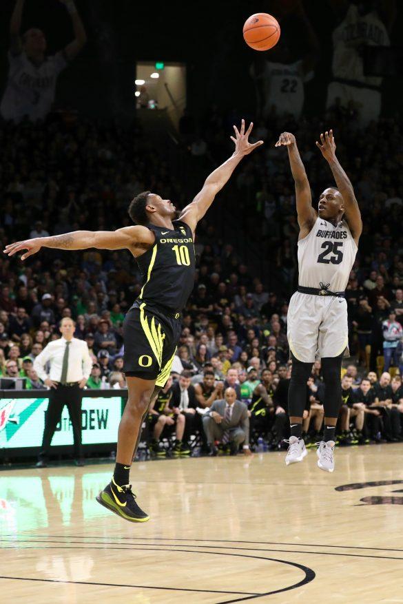 Colorado basketball tops No. 4 Oregon in Pac-12 opener