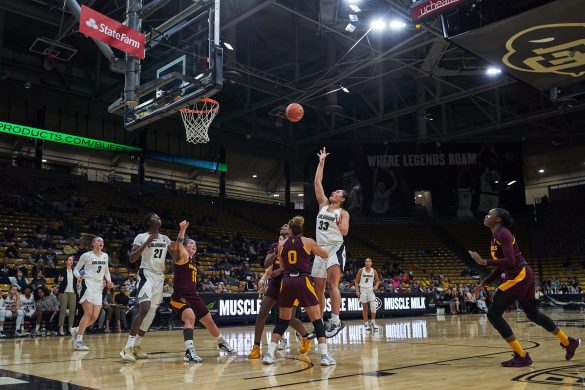 Colorado suffers another close loss, falling 65-59 to No. 21 Arizona State
