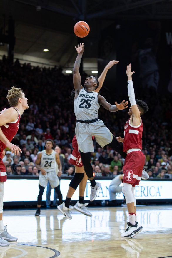 Buffs come back to defeat Stanford, 81-74, in emotion-filled game