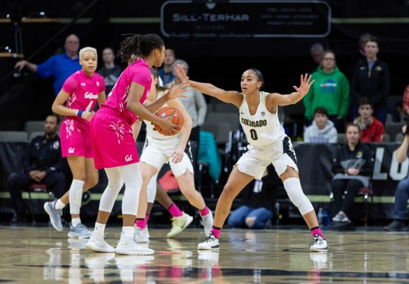 Colorado women's basketball snaps four-game losing streak with home win over Cal Bears, 64-57