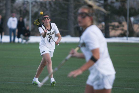 Colorado women's lacrosse defeats Harvard in home opener, 9-7