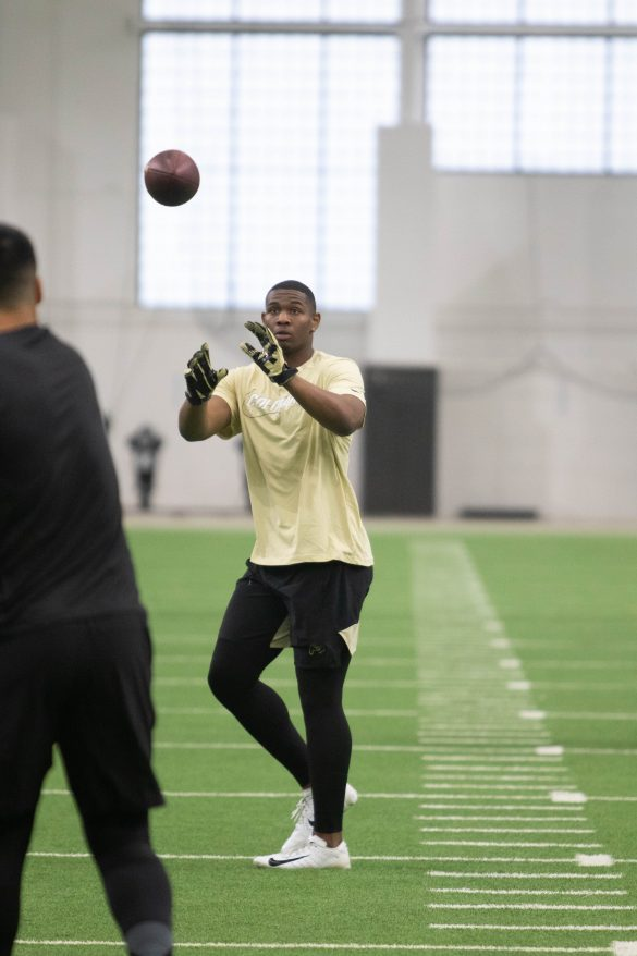 Buffaloes football hosts annual NFL pro day
